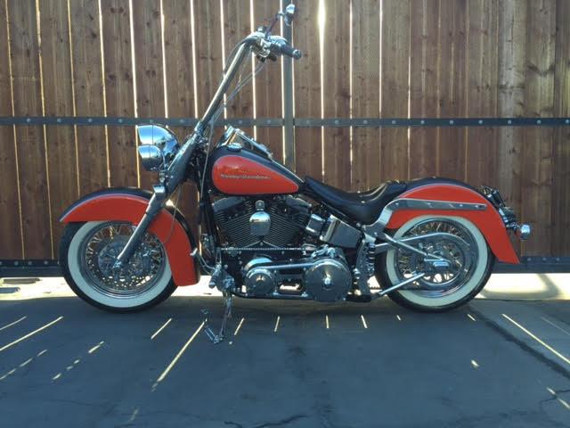 2007 Harley Davidson Heritage Softail Classic(2)
